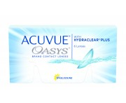 контактные линзы Acuvue Oasys with Hydraclean Plus (6 шт.)